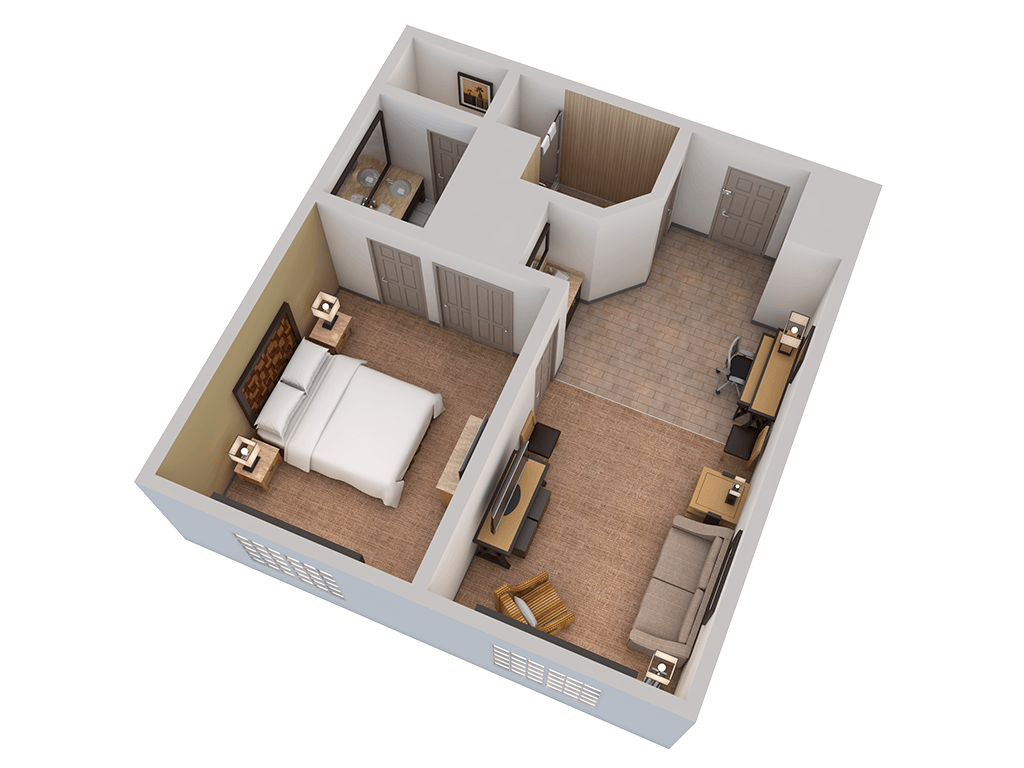 Embassy suites accessible accommodations in mandalay beach for Planner casa 3d
